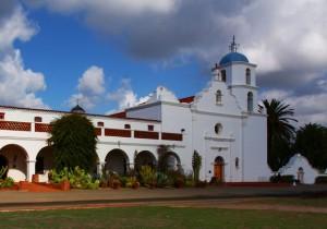 Mission San Luis Rey by Rennett Stowe