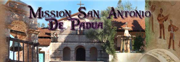 What is the Official Site of Mission San Antonio De Padua?