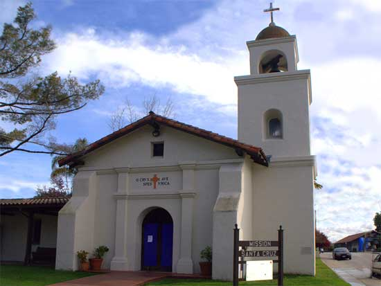 What is the History of Mission Santa Cruz?