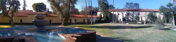 Mission San Fernando Panorama by Jeff Turner