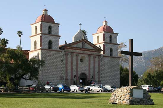 California Mission Addresses