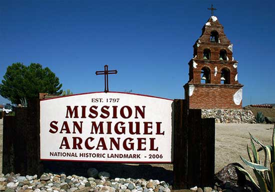 What is the History of Mission San Miguel Arcangel?