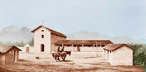What is the History of Mission San Rafael Arcangel?