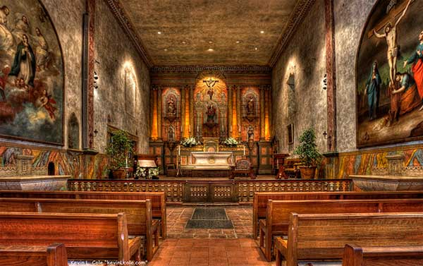 What is the Official Website of Mission Santa Barbara?
