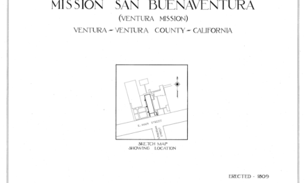 Mission San Buenaventura Floor plan